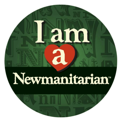 Newmanitarian Heart Button