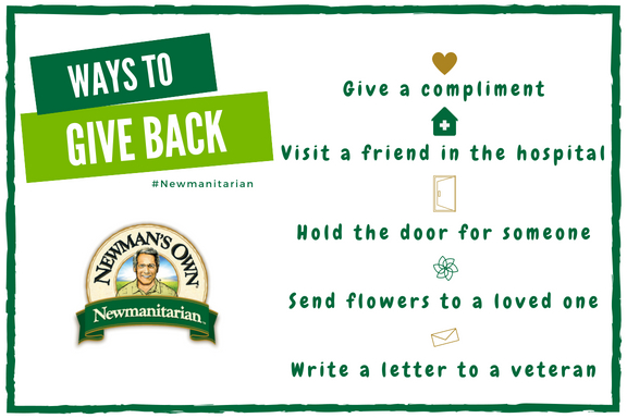 Ways to Give Back Newmanitarian 2018 (1)